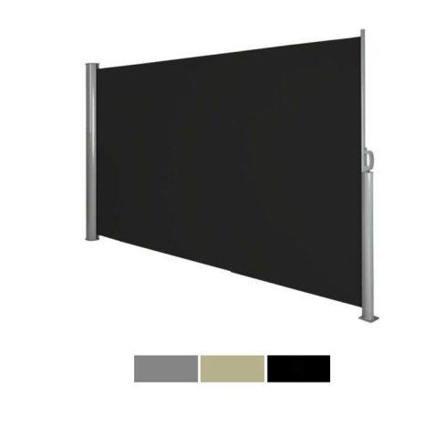 Kihúzható árnyékoló fal, fekete