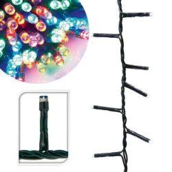 240 LED-es karácsonyi fényfüzér, 8 mozgó beállítással, színes