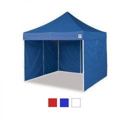 Hordtáskás 3x3-as pavilon, oldalfallal - kék