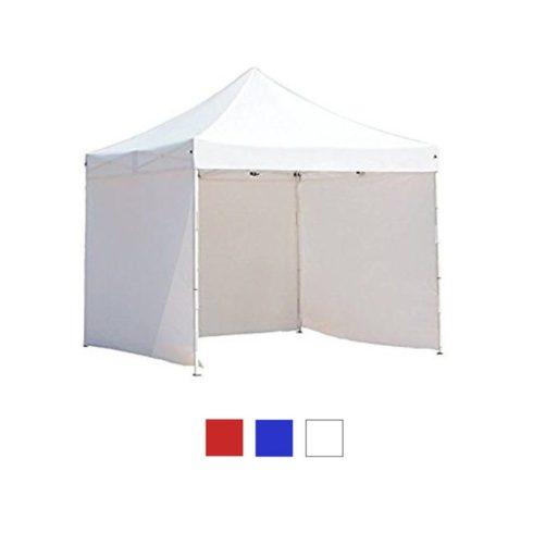 Hordtáskás 3x3-as pavilon, oldalfallal - fehér