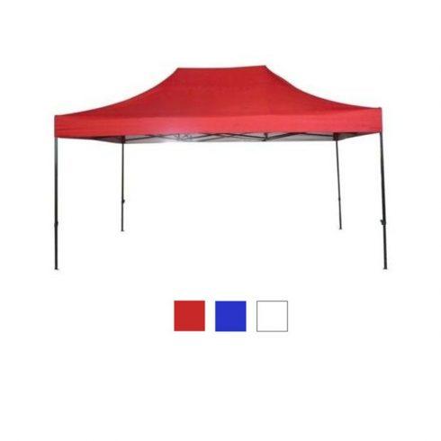 Kerti pavilon hordtáskával 2,9x4,25 m, piros