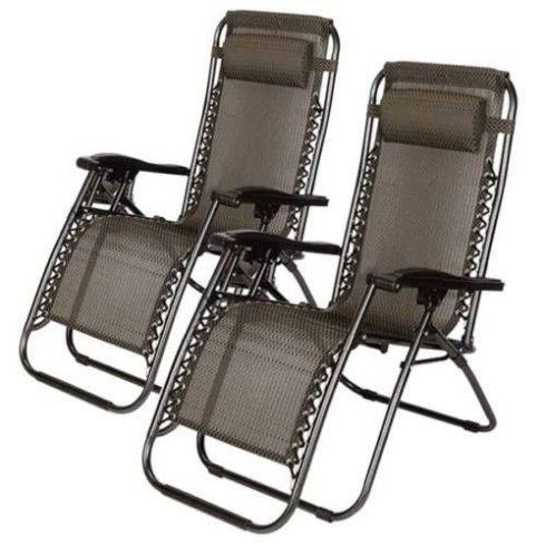 Zéró gravitáció kerti szék, 2 db