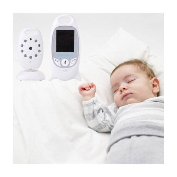 Kamerás babafigyelő, bébiőr