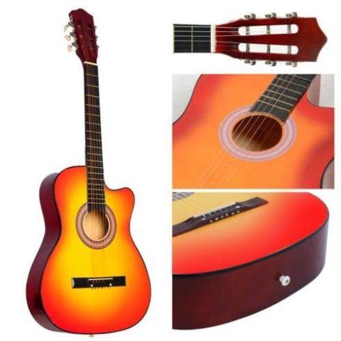 Akusztikus gitár szett kezdőknek