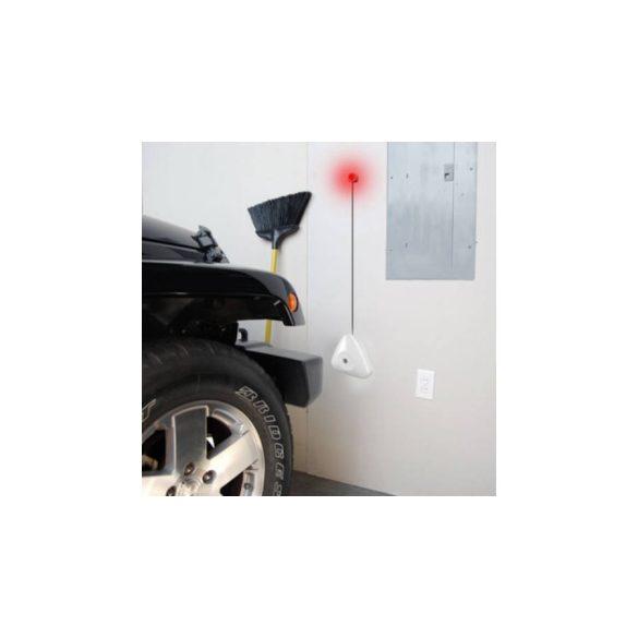 Parkolást segítő jelzőfény garázsba