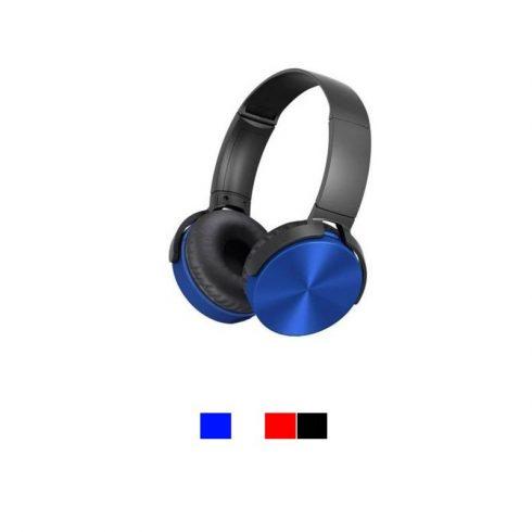 Vezeték nélküli fejhallgató, kék