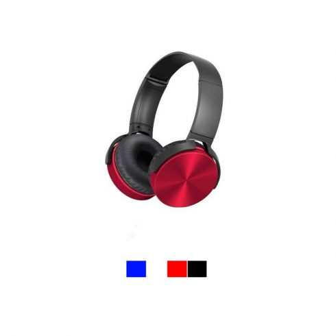 Vezeték nélküli fejhallgató, piros