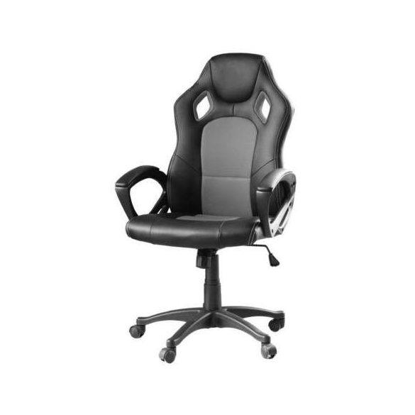 Gamer és irodai szék (szürke)