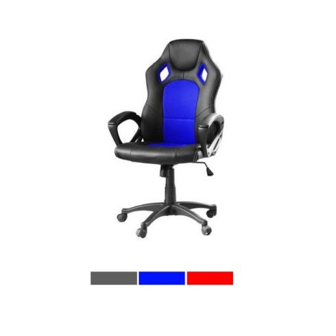 Gamer és irodai szék (kék)
