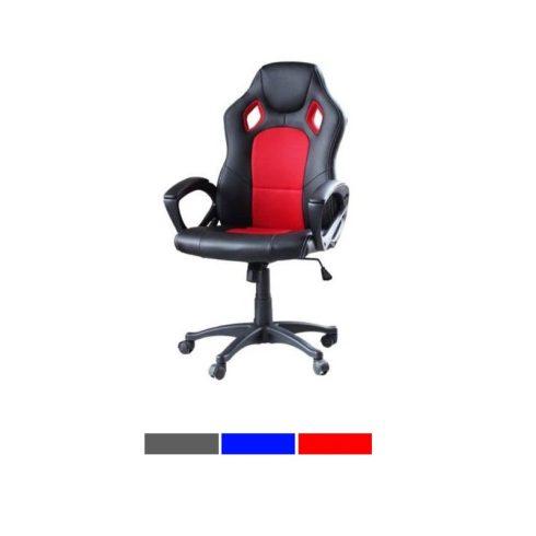 Gamer és irodai szék (piros)