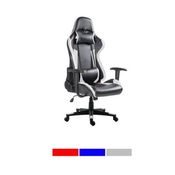 Gamer és irodai, főnöki szék PRO (szürke)