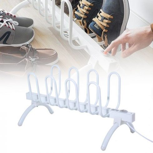 Elektromos cipőszárító 4 pár cipőnek, 80 W