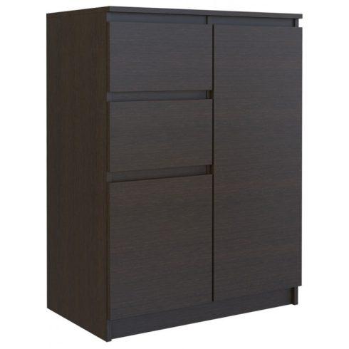 Milanga 2D2S fiókos szekrény, wenge