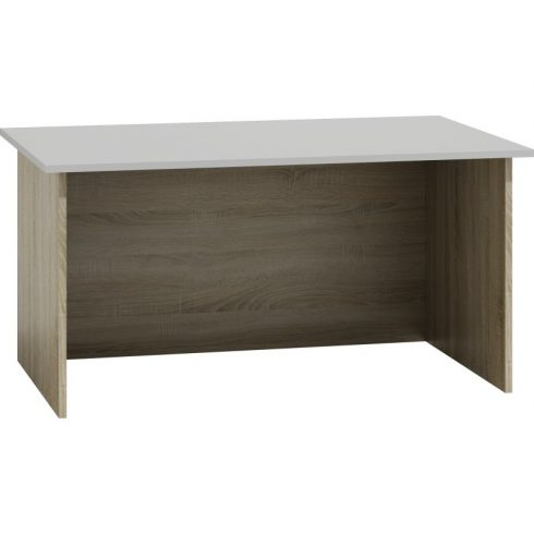 Odell STD MIX íróasztal, sonoma- fehér