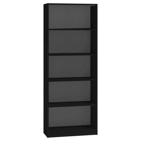 Baltrum R60 polcos szekrény, fekete
