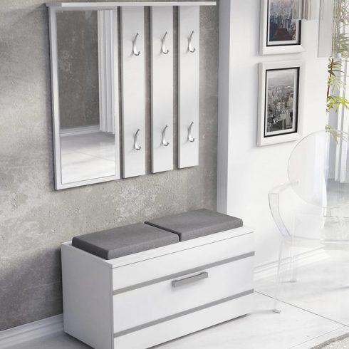 Drohmo Opal előszobafal, fehér