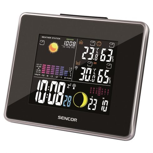 Sencor SWS 260 időjárás-állomás, hőmérő