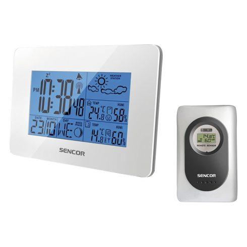 Sencor SWS 51 W időjárás-állomás, hőmérő
