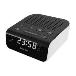 Sencor SRC 136 WH rádiós ébresztőóra