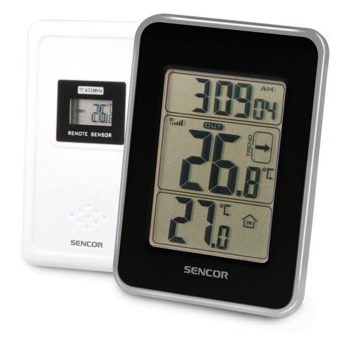 Sencor SWS 25 BS időjárás-állomás, hőmérő