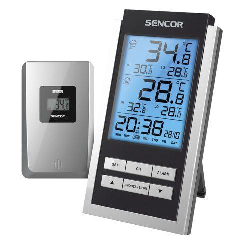 Sencor SWS 125 időjárás-állomás, hőmérő