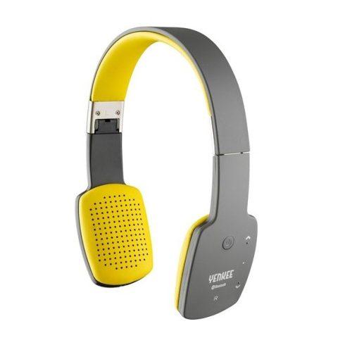 YENKEE YHP 15BTGY GROOVE vezeték nélküli bluetooth fejhallgató - fekete-sárga