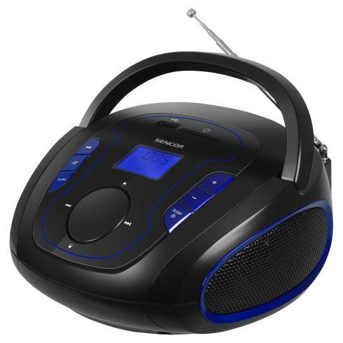 Sencor SRD 230 BBU USB / SD / MP3 lejátszós hordozható rádió