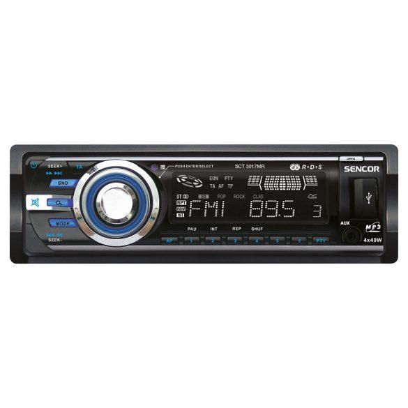Sencor SCT 3017MR autórádió multimédia lejátszóval