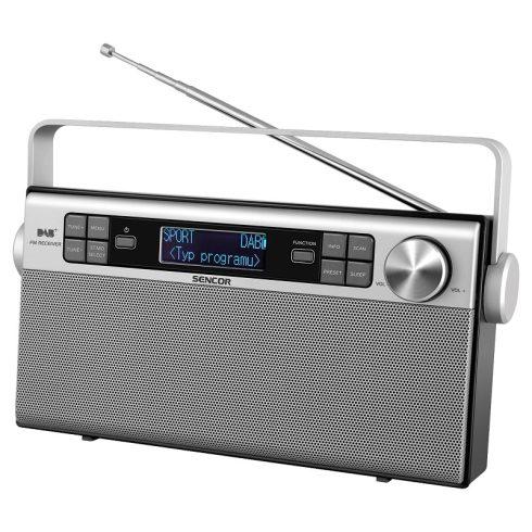 Sencor SRD 6600 DAB+ hordozható rádió