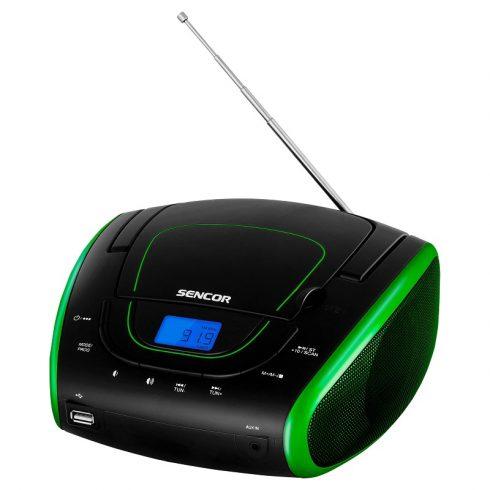 Sencor SPT 1600 BGN CD-s, USB-s, MP3 lejátszó és rádió