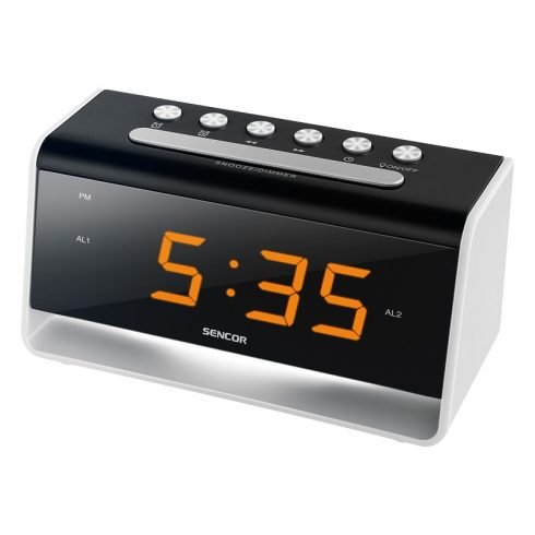 Sencor SDC 4400 W digitális ébresztőóra