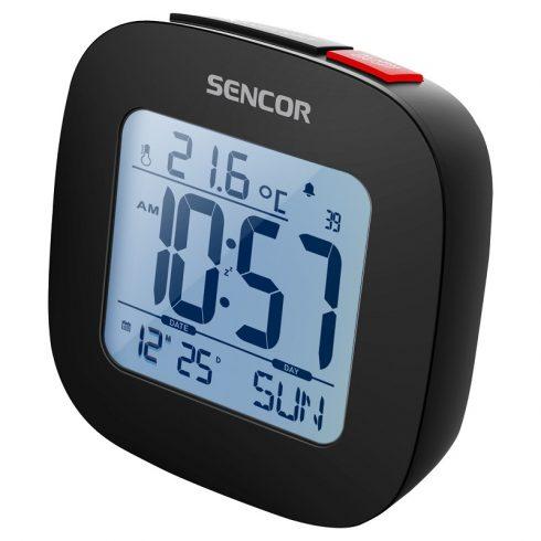 Sencor SDC 1200 B digitális ébresztőóra