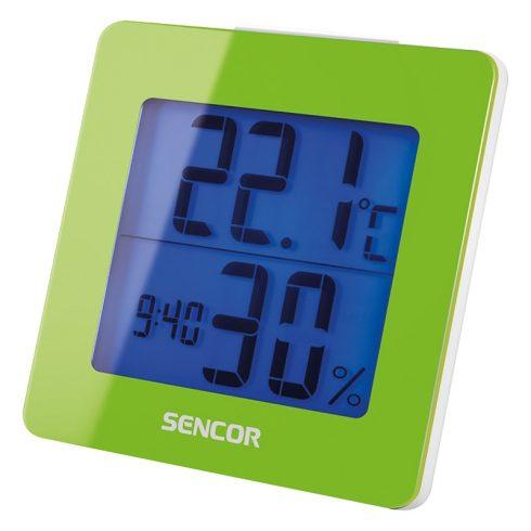 Sencor SWS 1500 GN időjárás-állomás, hőmérő