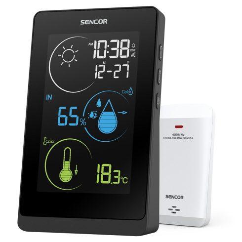 Sencor SWS 8800 időjárás-állomás, hőmérő