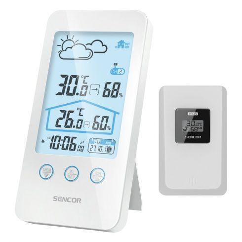 Sencor SWS 3000 W időjárás-állomás, hőmérő