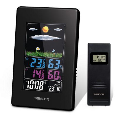 Sencor SWS 4000 időjárás-állomás, hőmérő