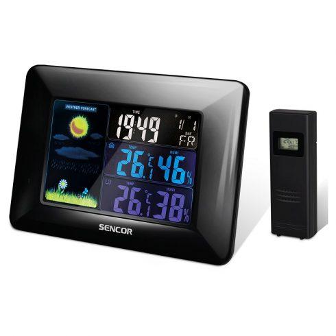Sencor SWS 4250 időjárás-állomás, hőmérő