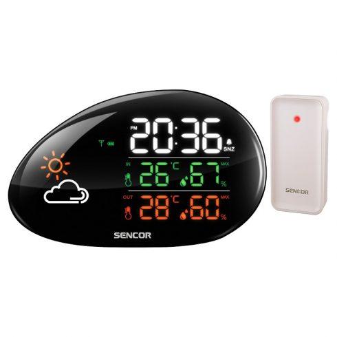 Sencor SWS 5200 időjárás-állomás, hőmérő