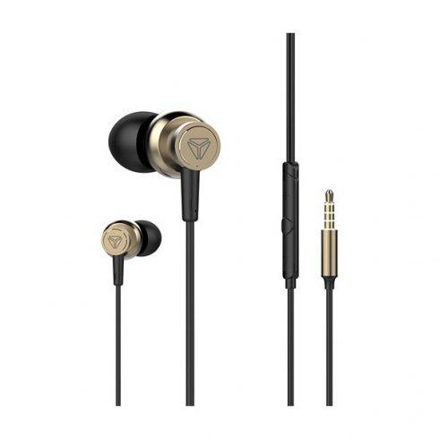 YENKEE YHP 205CE prémium fülhallgató mikrofonnal - fekete-arany