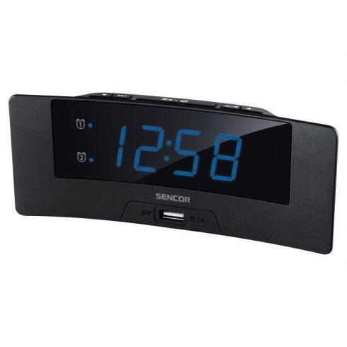 Sencor SDC 4912 BU digitális ébresztőóra