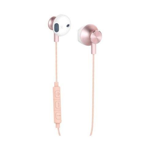 YENKEE YHP 305PK fülhallgató mikrofonnal -  rózsaszín