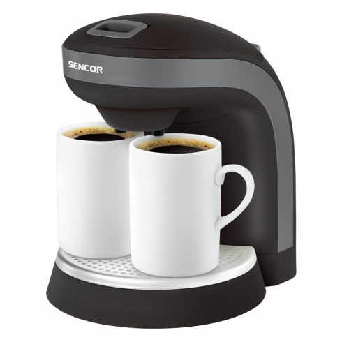 Sencor SCE 2000BK kávéfőző, 2 db ajándék bögrével