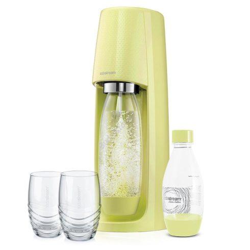Sodastream SM SPIRIT Szódagép + 2 pohár - zöld