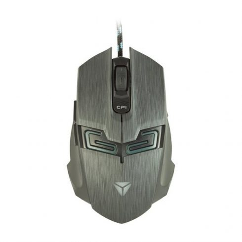 YENKEE YMS 3007 SHADOW gamer egér - zöld