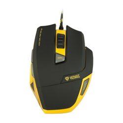 YENKEE YMS 3009 HORNET gamer egér - fekete-sárga