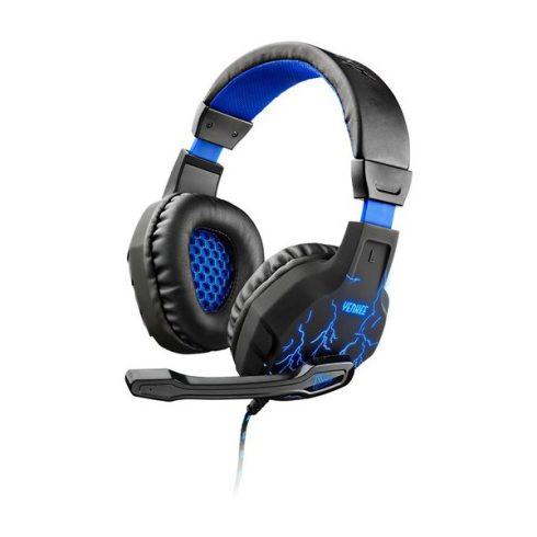 YENKEE YHP 3020 AMBUSH gamer fejhallgató - fekete-kék