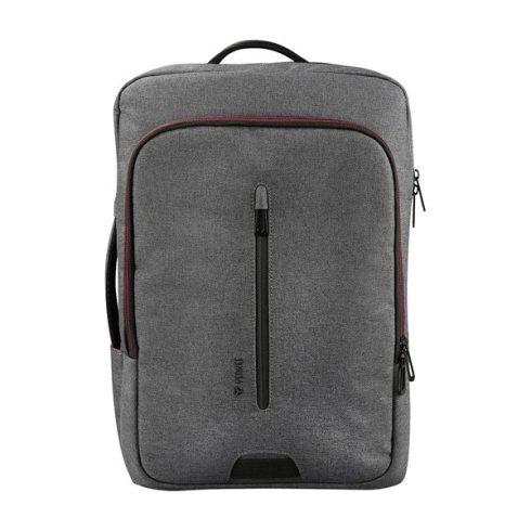 """YENKEE YBB 1522GY TARMAC Notebook / tablet / irattartó hátizsák 3 az 1 -ben, 15,6""""-os méretig"""