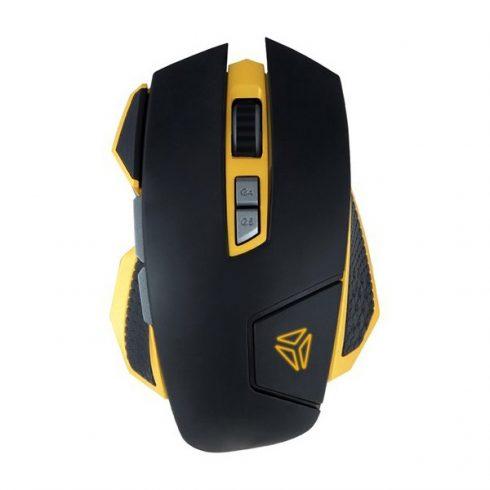 YENKEE YMS 3029 HORNET AIM gamer egér - fekete-sárga