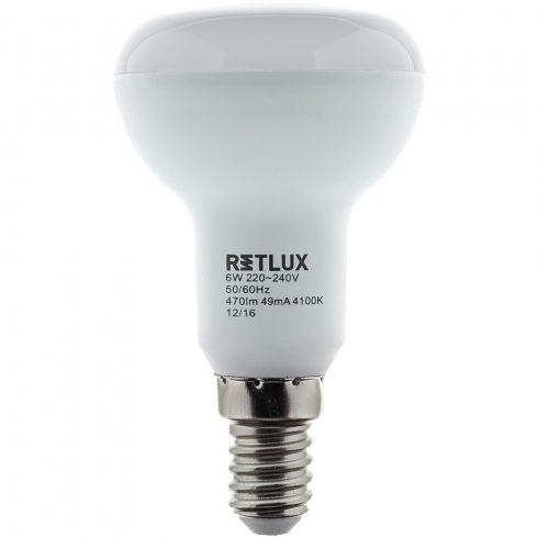 Retlux RLL 307 R50 E14 Spot 9W CW LED izzó (hideg fehér4100K)