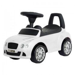 Bentley GT lábbal hajtós autó 1,5 éves kortól, fehér